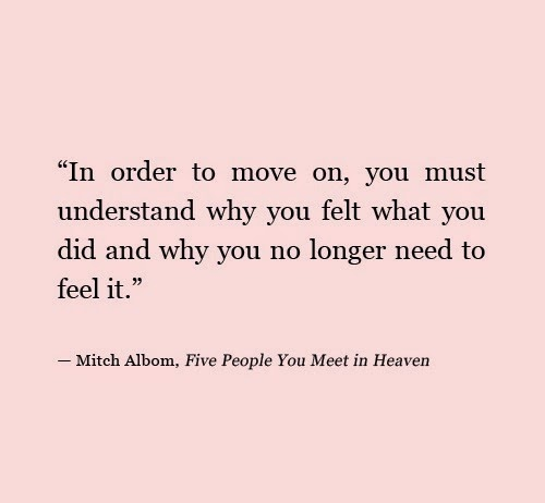 Quotes about Move on