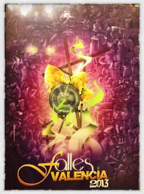 Cartel Oficial de Fallas 2013