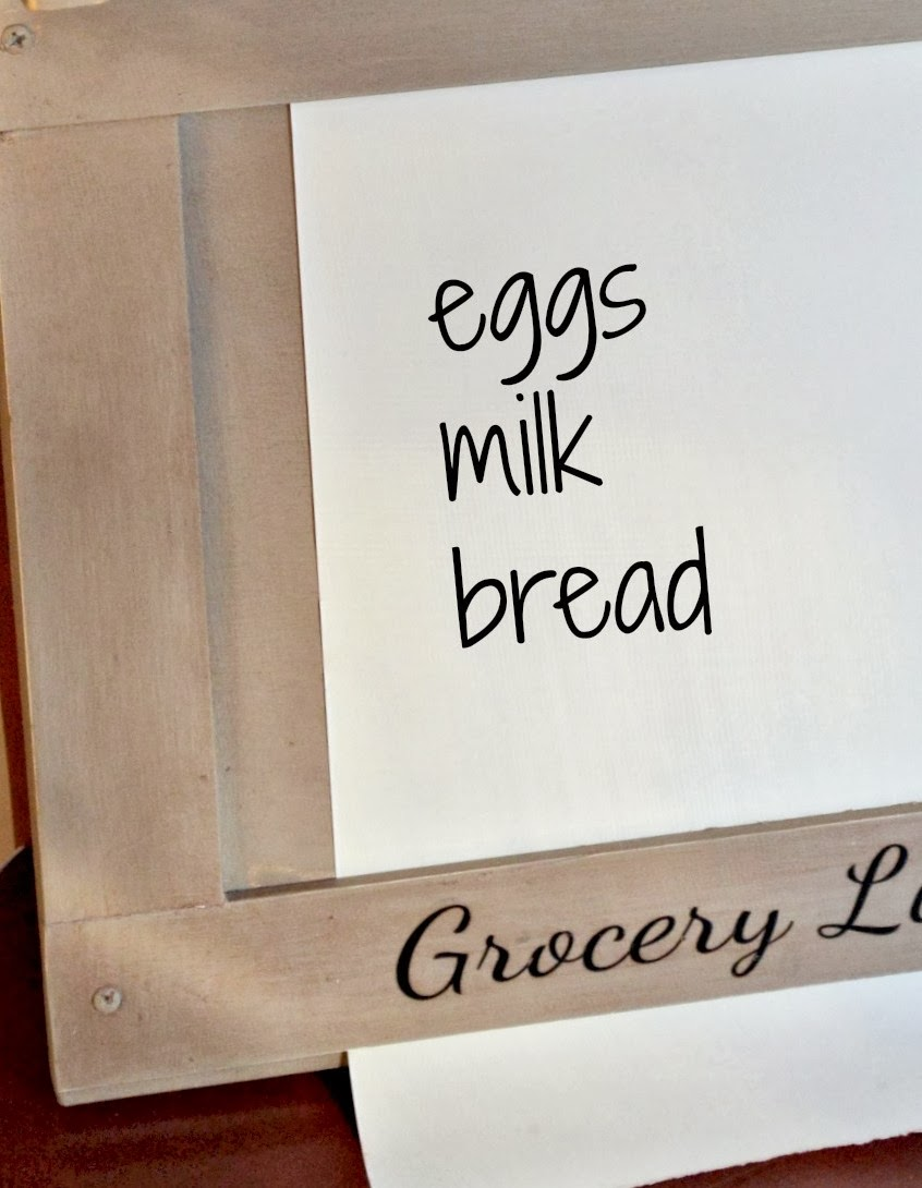 paper roll grocery list www.homeroad.net