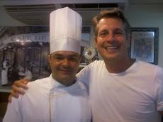 Eu e o Cheff Fernando