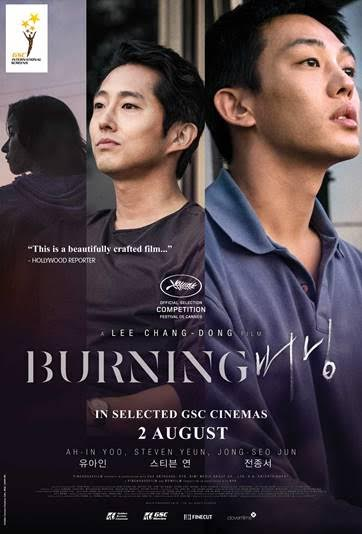 2 OGOS 2018  - BURNING (KOREAN) GSC INTERNATIONAL SCREENS