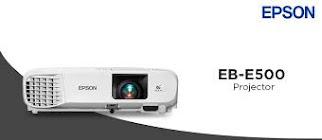"Promo Paket Lcd Projector Epson + Layar Manual 96""(244cm X 244cm)"