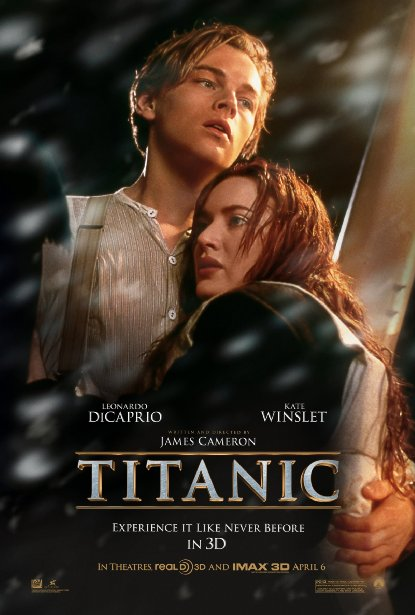 Poster of Titanic 1997 720p Hindi BRRip Dual Audio Full Movie Download