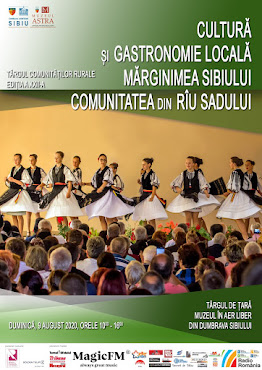 Târgul comunităţilor rurale, comunitatea din Rîul Sadului, 9 august 2020