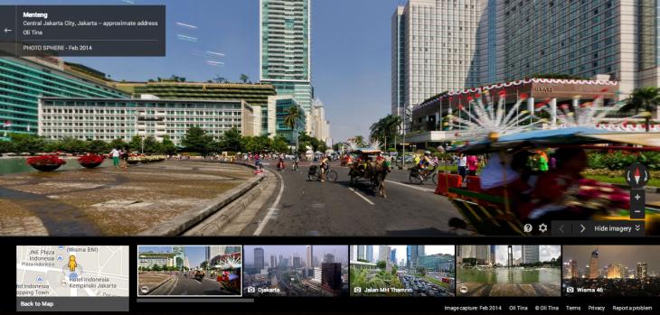 Google Street View Đã Có Mặt Ở Indonesia