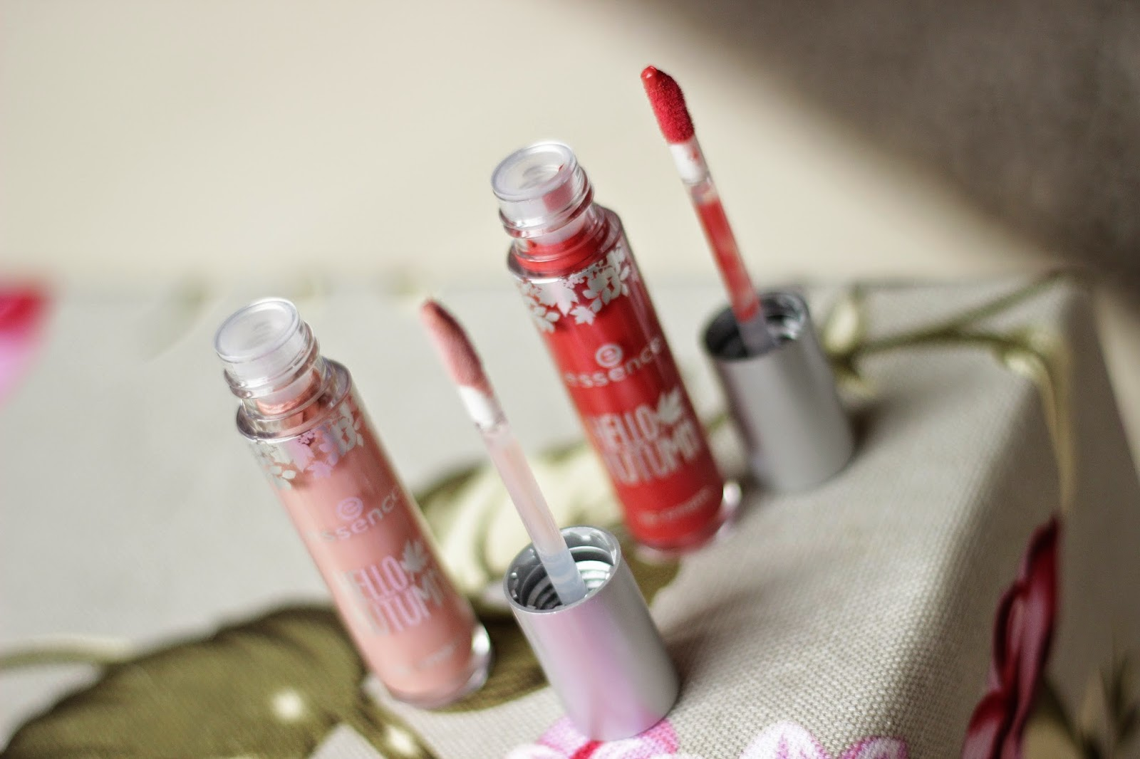 essence hello autumn lip creams