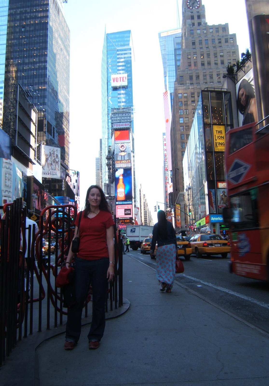 Tina at Times Square, New York © 2008 Jeff Welter