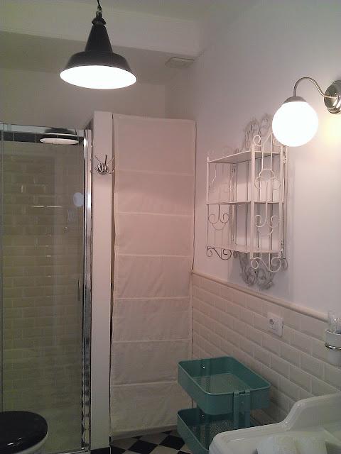 Astenersi no perditempo prima dopo bagno in stile d co - Piastrelle diamantate bagno ...