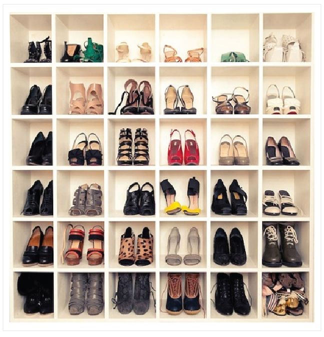 IKEA Closet as Kallax