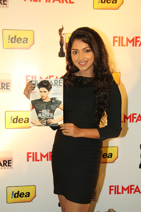 amala paul at 59th filmfare awards press meet amala paul at filmfare magazine cover june 2012 unseen pics