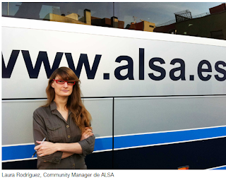 Casos de éxito en redes sociales: Transporte Alsa