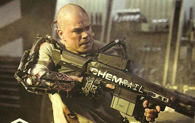 "Matt Damon in ""Elysium"""