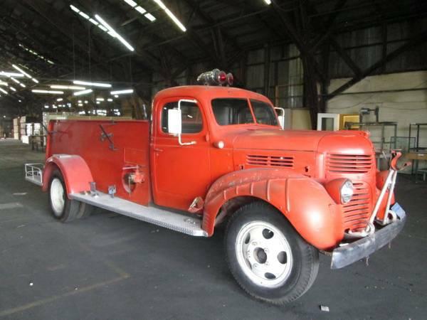 1945 Dodge Fire Truck | Auto Restorationice