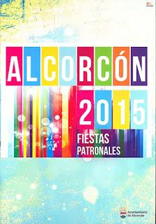 Cartel Fiestas Alcorcon 2015