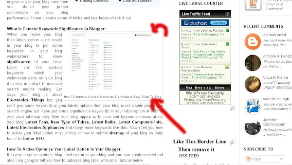 How I Remove Or Change Blogger Post Image Border In Blogspot