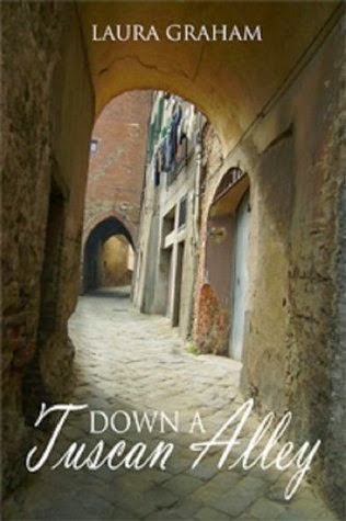 http://www.amazon.com/Down-Tuscan-Alley-Laura-Graham-ebook/dp/B0058DVVR0/ref=sr_1_1?ie=UTF8&qid=1395797759&sr=8-1&keywords=down+a+tuscan+alley