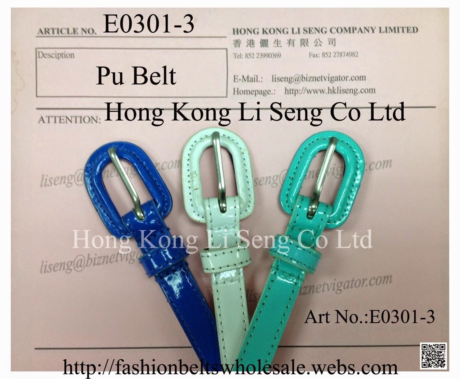 Girls Skinny Belt Manufacturer and Supplier - Hong Kong Li Seng Co Ltd