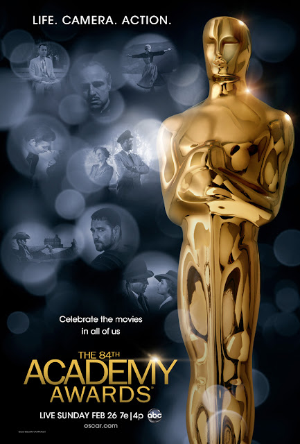 84. Akademi Ödülleri Posteri