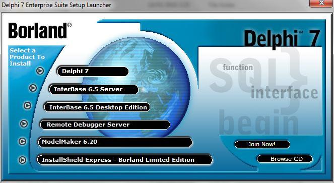скачать бесплатно программу Delphi 7 для Windows 7 - фото 2