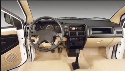 2015 Isuzu Crosswind interior