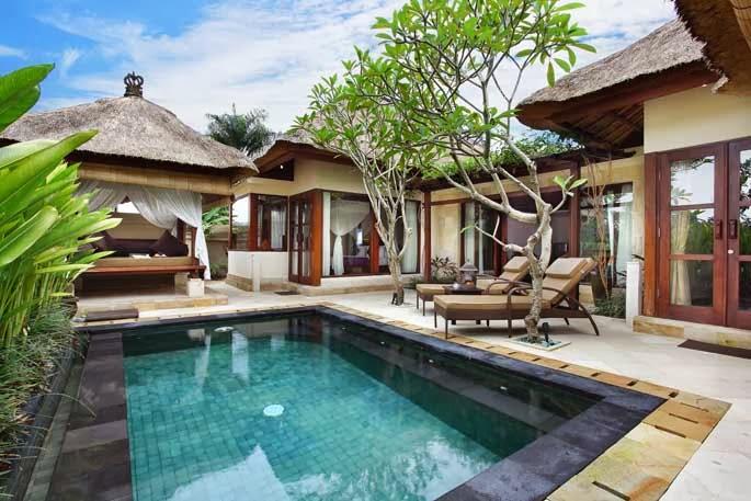 The ubud village resort spa bali indonesia for Garden pool villa ubud village resort