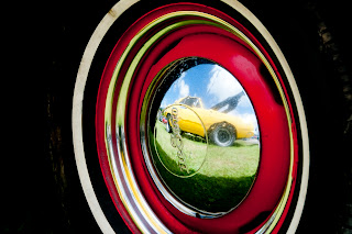 Classic car hub cap