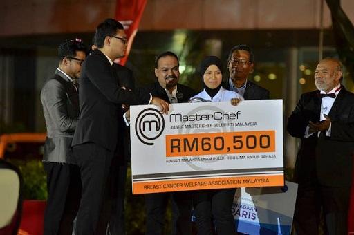 Syura Juara Masterchef Selebriti Malaysia 2