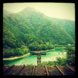 Okutama lake Haikyo in Japan