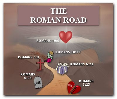 Superb image with romans road printable