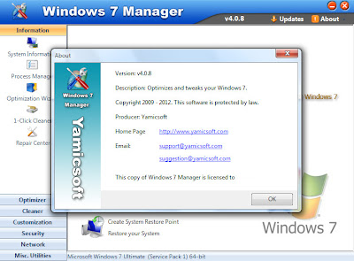 Windows 7 Manager v.4.0.8