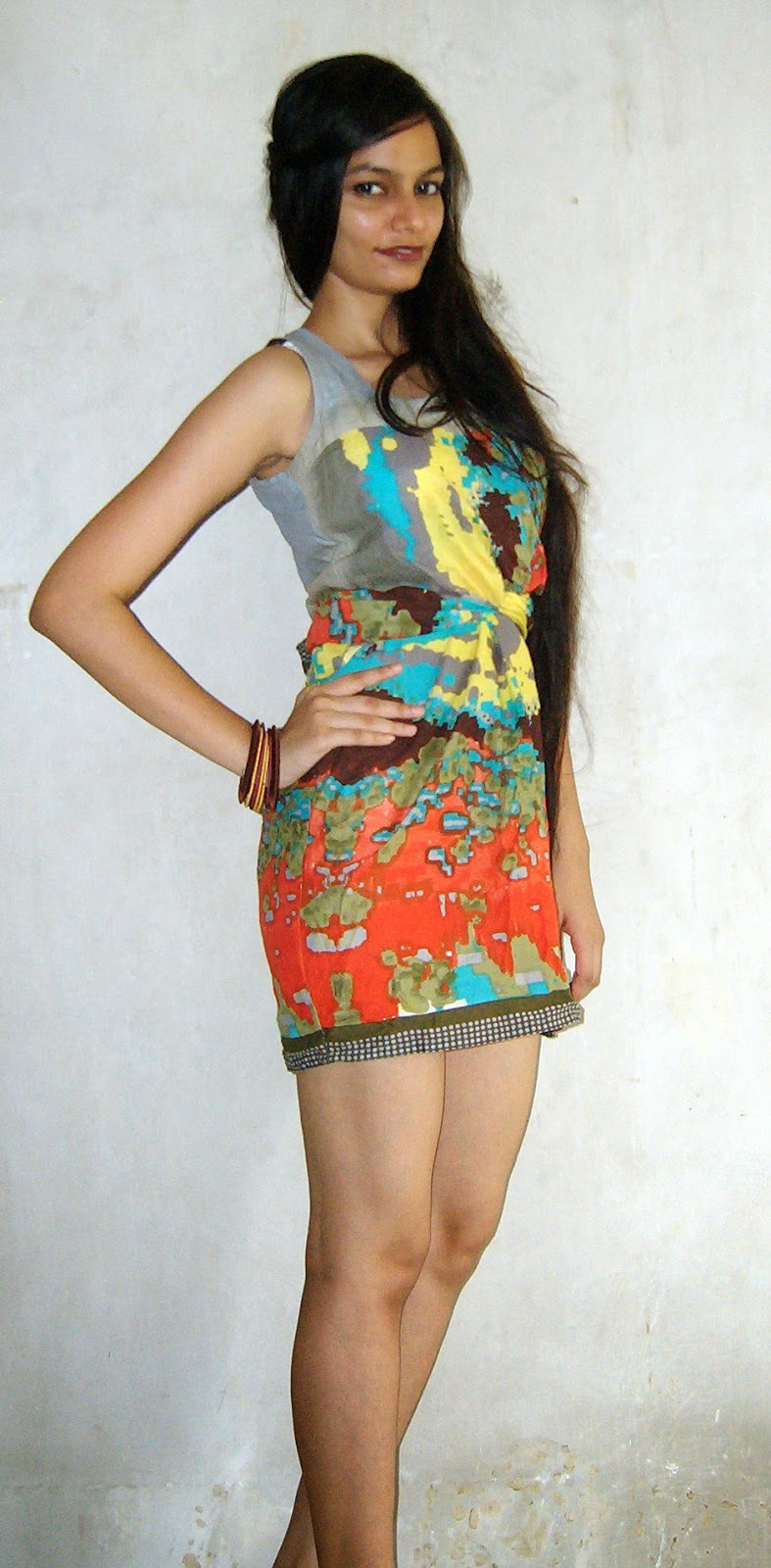 painted dress, short dress, summer dressing, mumbai fashion blogger, indian fashion blog, mumbai streetstyle