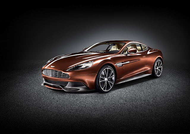 Aston Martin new Vanquish front side