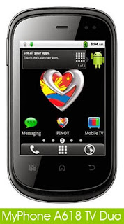 MyPhone A618 TV duo Android Phone