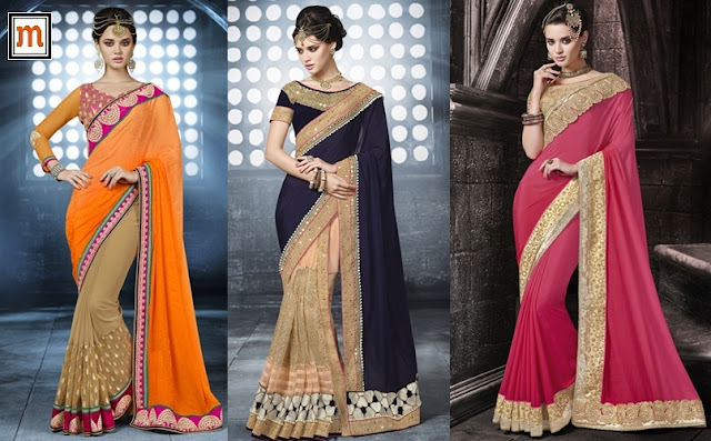 Designer Sarees for Wedding and Party
