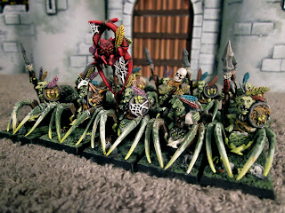 Goblin Spider Riders for Warhammer Siege