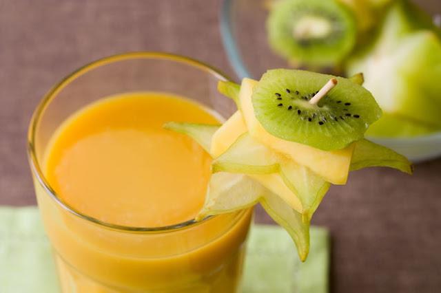 Mango and Kiwi Shake