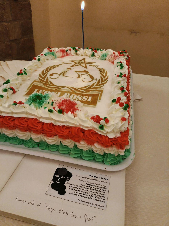 Una torta per festeggiare...