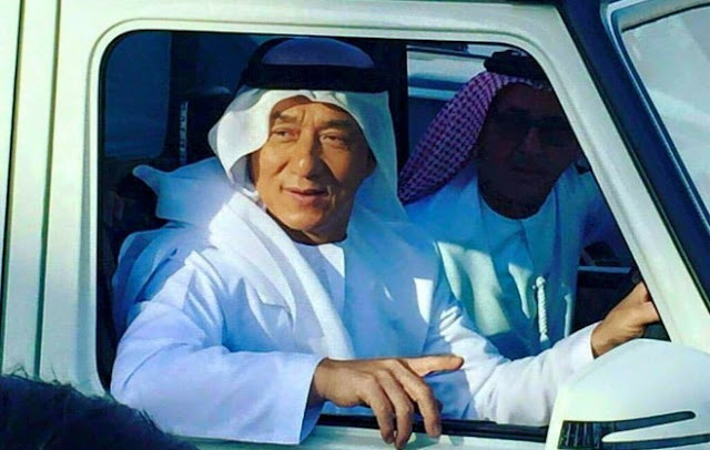 Jackie Chan Masuk Islam