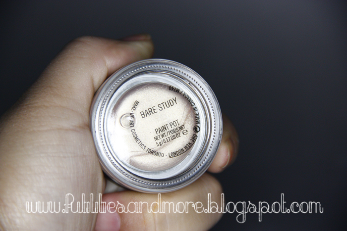 Mac Paint Pot Bare Study, makeup blog, beauty, blog, asian, monolid, eyes, mac, maquillage, yeux brides, asiatique, review, tutorials, futilitiesandmore.blogspot.com, futilities and more, futilitiesandmore