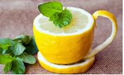 Les citrons;Boire de l'eau tiède citronnée chaque matin