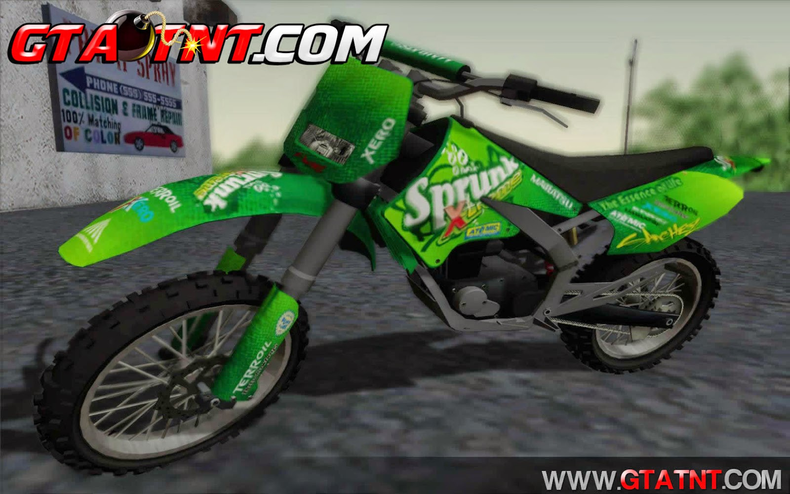 Sanchez Convertido do GTA V para GTA San Andreas