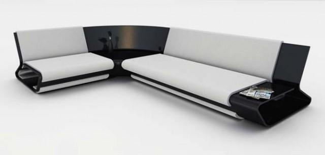 Slim Sofa Design By Stephane Perruchon