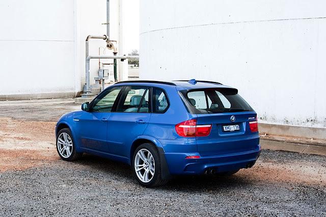2012 BMW X5 M Back Exterior