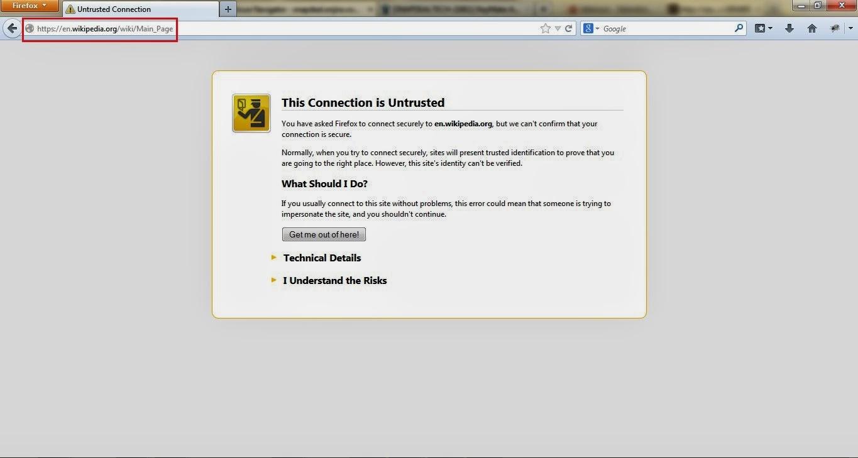 How To Handle Ssl Certificate Error On Webpage Using Selenium