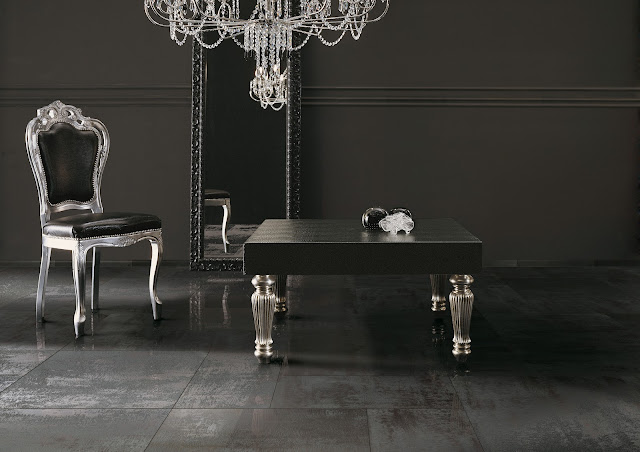L 39 architetto risponde rivestimenti pavimenti e pareti gres porcellanato karmarchitettura - Piastrelle effetto metallo ...