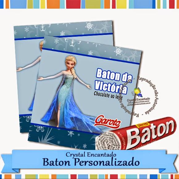 Baton Personalizado Frozen