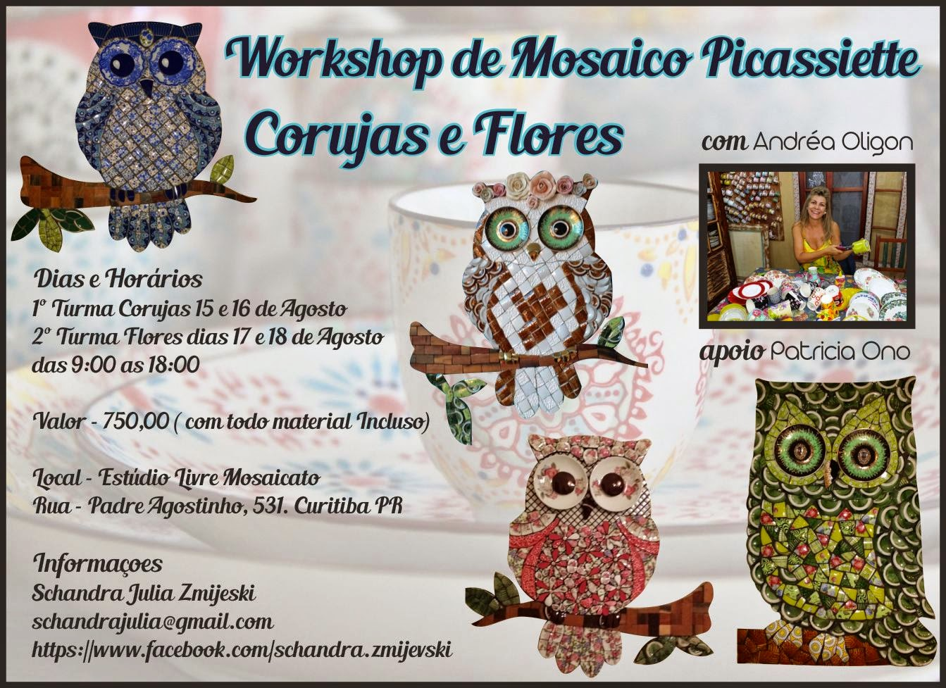 Workshop de Mosaico Picassiette