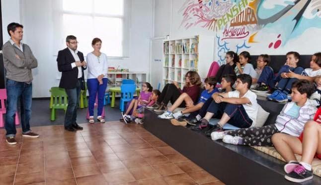 """El Cabildo de Tenerife fomenta con el proyecto """"Pupitre"""" las bibliotecas escolares"""