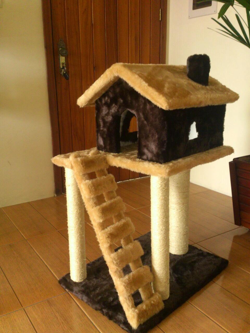 Happy cats - Casa de gatos con palets ...