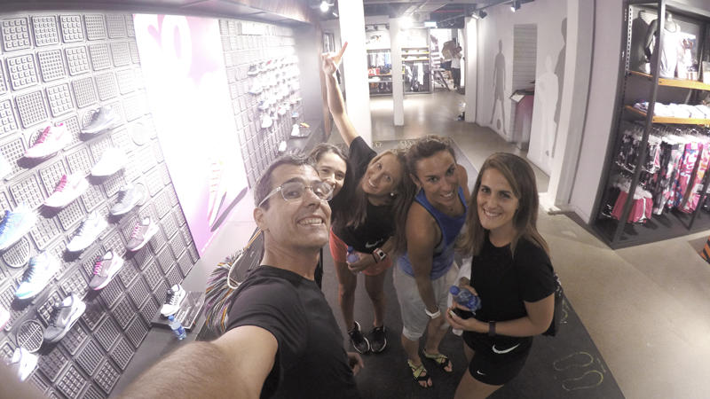 Nike Training Club en Madrid